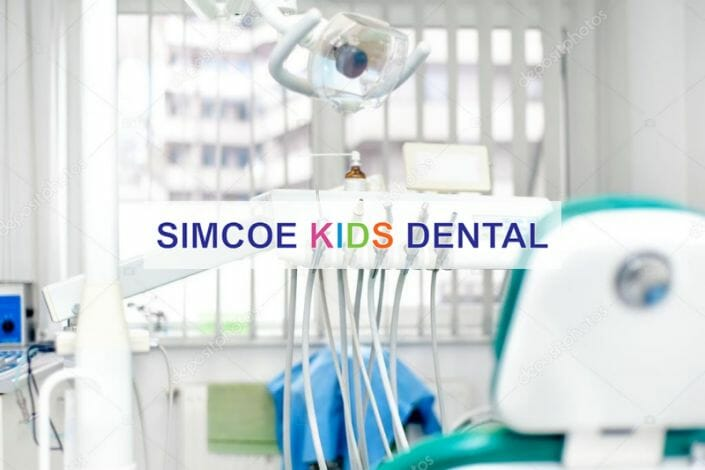 Simcoe Kids Dental featured image of a dental chair.
