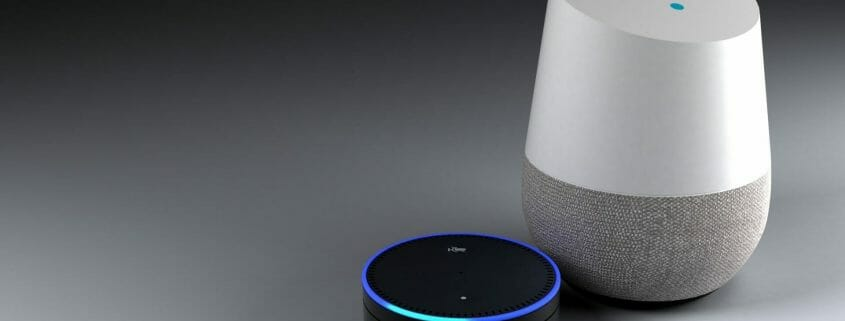 google home and alexa devices