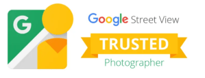 Google Street View Trusted Photographer graphic.