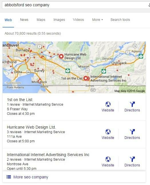 google-local-3-pack-example